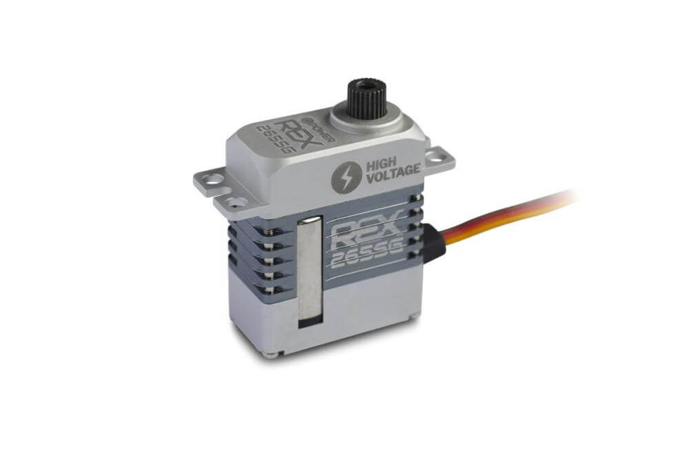 D-Power REX 265SG HV Coreless Servo, 23x12x27,3mm, 18g, 64Ncm bei 8,4V - Bild 1