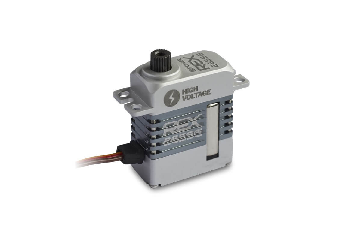 D-Power REX 265SG HV Coreless Servo, 23x12x27,3mm, 18g, 64Ncm bei 8,4V - Bild 2