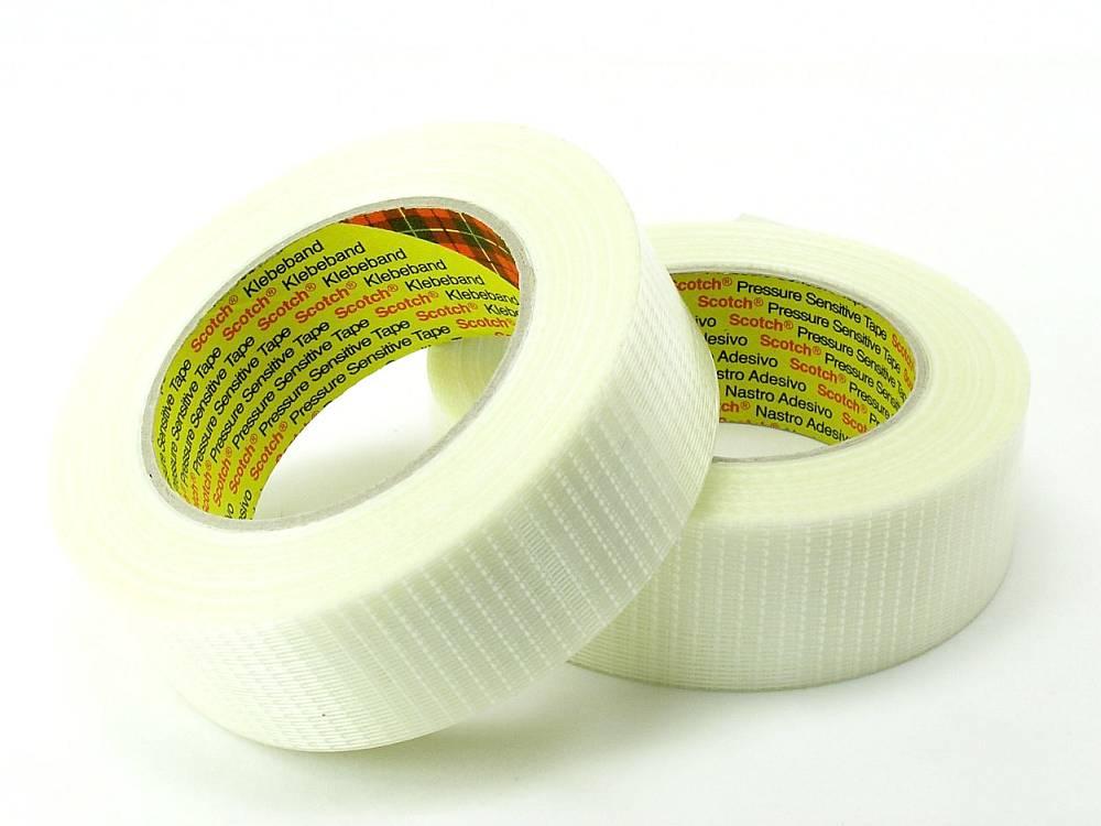 glasfaserverst rktes filament kreuz klebeband 50mm breit 50m rolle klebeb nder klebstoffe. Black Bedroom Furniture Sets. Home Design Ideas