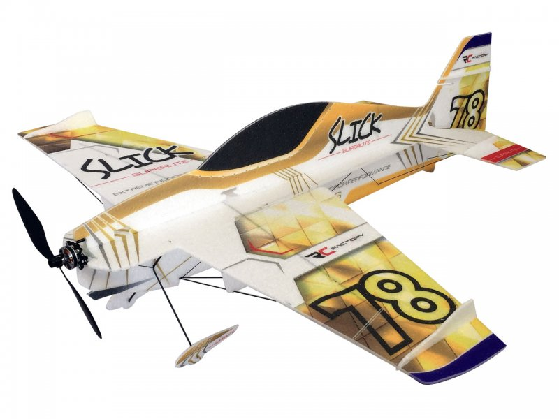 Slick Superlite (Gold), Combo, Indoormodell, Spw. 840mm, Pichler # C9319 - Bild 1