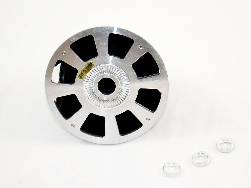 Alu-Kunststoff Spinner 57mm Rot für starre Luftschrauben Neu aero-naut