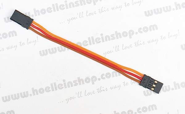 Patchkabel JR Flach 3x025 Mm 10cm Lang 56133