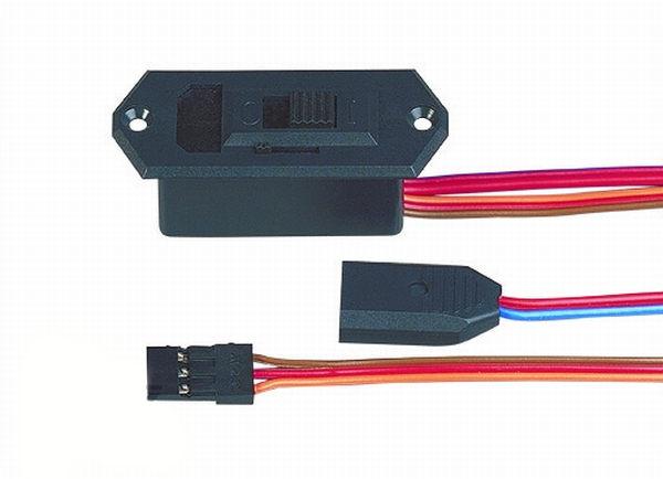 Schalterkabel mit LB UNI/MPX (schwarz), Multiplex # 85039 - Image 1